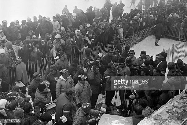 10Th Winter Olympic Games Of Grenoble 1968 En France le 18 février 1968 Lors des Jeux Olympiques d'hiver de Grenoble JeanClaude KILLY remporte le...
