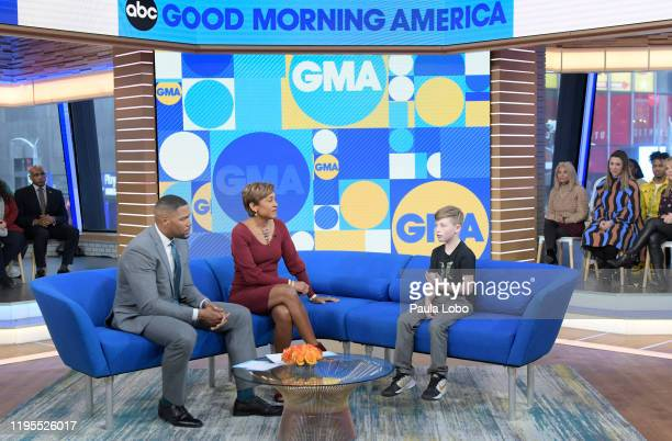 """Year-old Chase Hansen, who is on a mission to help the homeless by giving them both meals and friendship, is a guest on """"Good Morning America,""""..."""