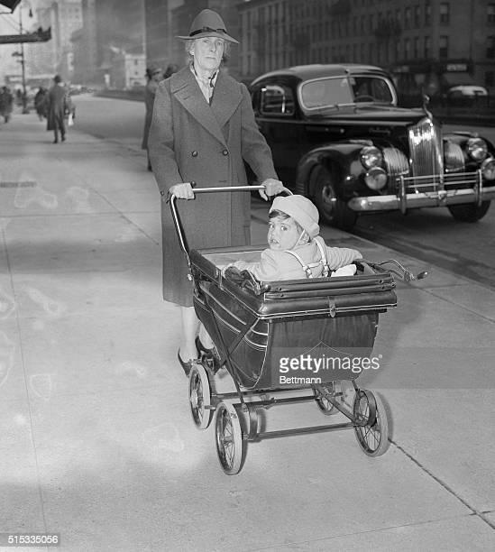 New York NYORIGINAL CAPTION READS Young Wayne William Lonergan son of the late Patricia Burton Lonergan and Aircraftsman Wayne Lonergan of the Royal...