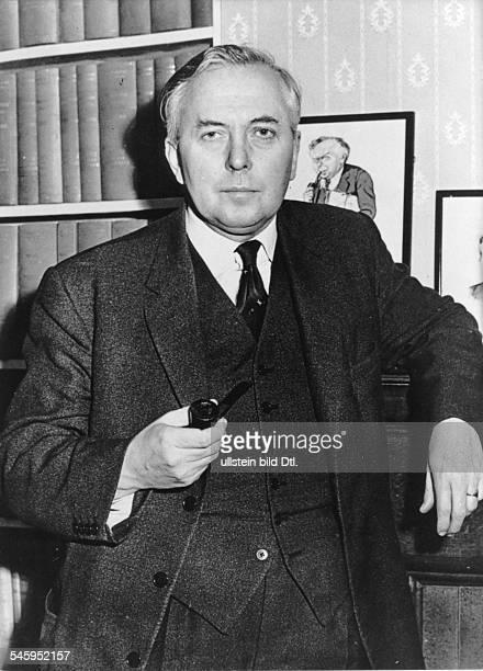 Politiker, Gro?britannien Premierminister 1964-70, 1974-76- 1963