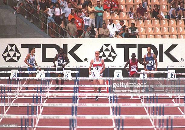 WM 1999 110m Huerden Maenner Sevilla/ESP Falk BLAZER/GER