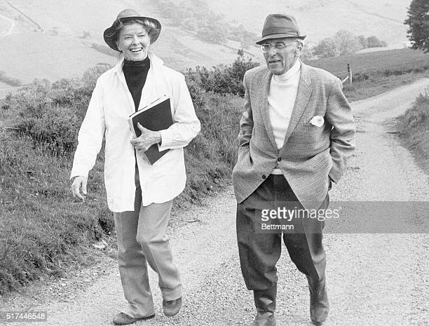 """North Wales, United Kingdom-Katharine Hepburn will be 70 this year and George Cukor will be 80. In """"The Corn is Green"""" she will be starring under his..."""