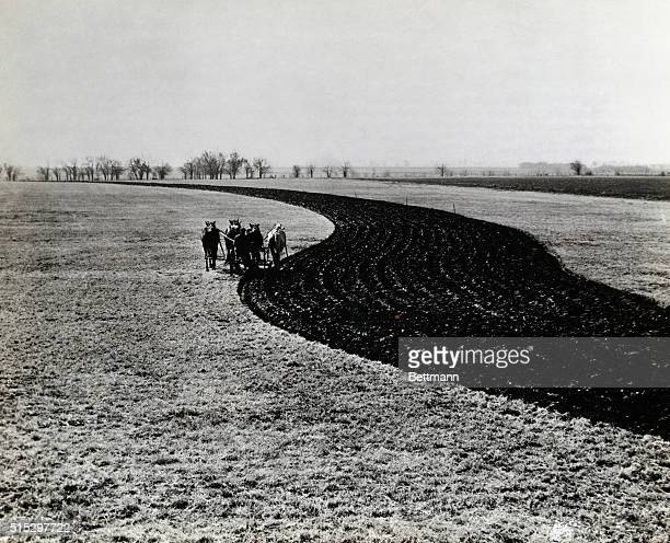 11/12/36Allen County This field slopes gently enough so that erosion and water runoff can be controlled by contour farming and strip cropping This...
