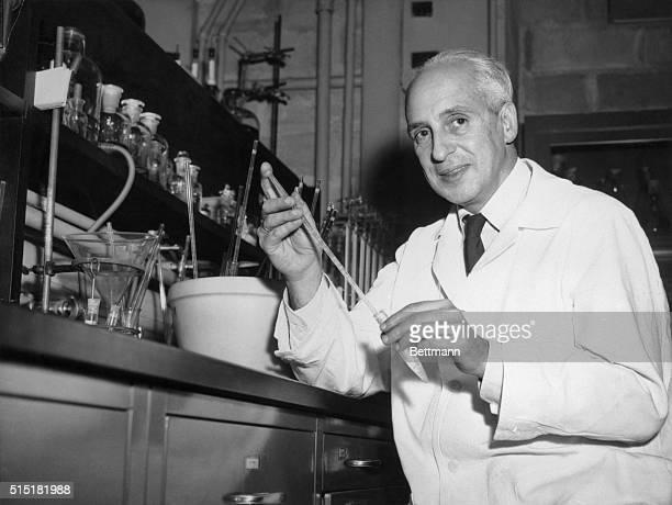 New York,NY:- New York University scientists under the direction of Dr.Severo Ochoa, chief of the University's College of Medicine Biochemistry...