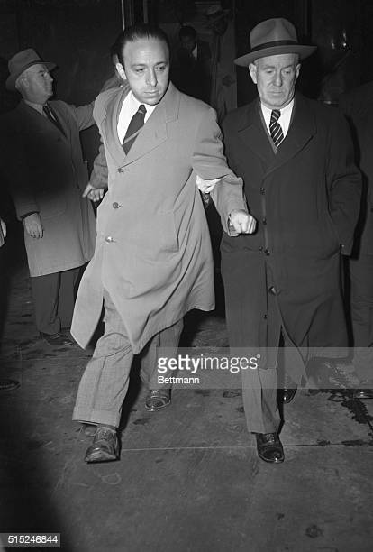 New York NY Abraham Brothman engineer who is charged with obstructing justice by inducing confessed atomic spy Harry Gold to testify falsely to a...