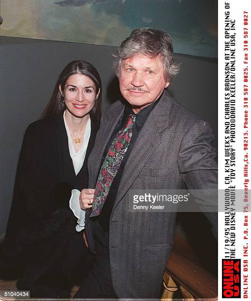 95Charles Bronson And Kim Weeks At The Premiere Of Disney's Movie Toy Story