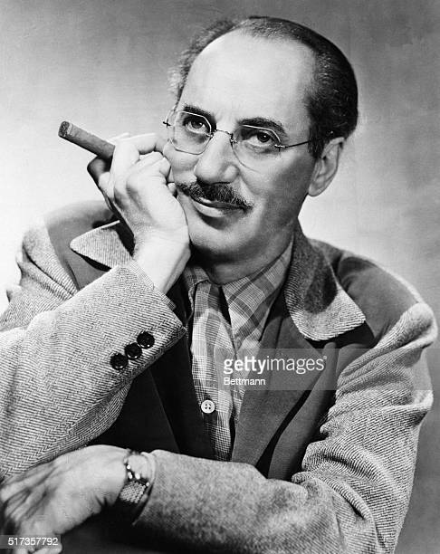 11/21/52Hollywood California Portrait of screen and television Groucho Marx