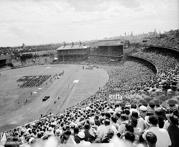 Melbourne Australia THOUSANDS WITNESS OPENING OF 16TH OLYMPIAD A general view of the huge crowd that gathered in the stands at the Melbourne Cricket...