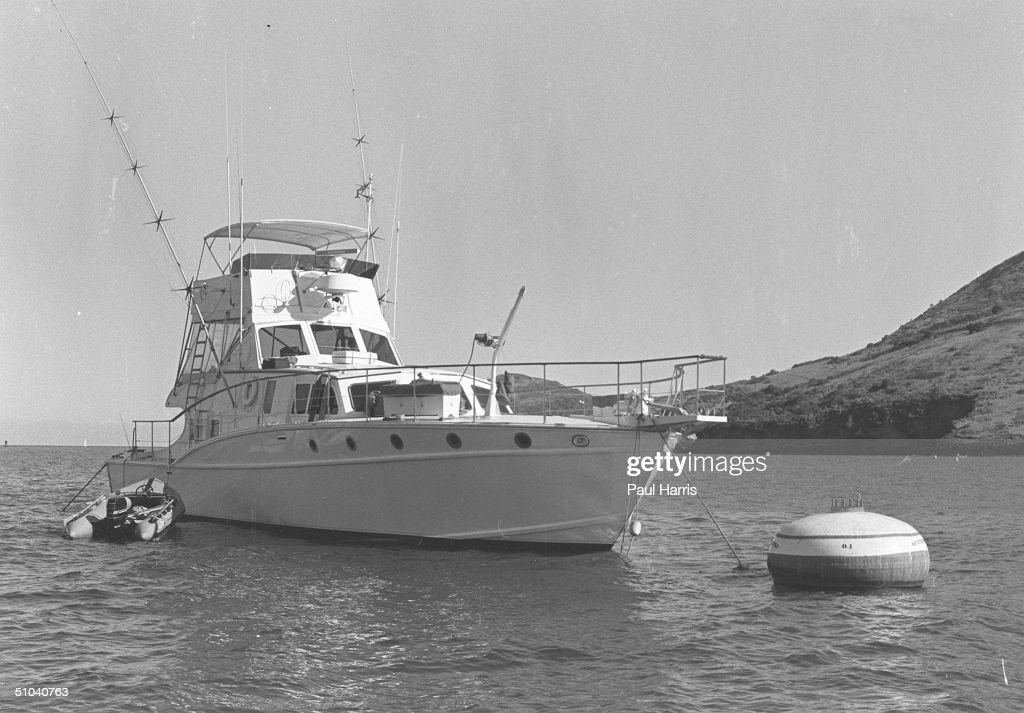 South Catalina Island. The Boat That Natalie Wood Fell Off And Drowned Whilst Robert Wagner And Christopher Walken Remained On Board