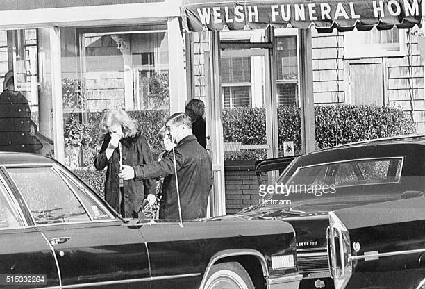 Chelsea MassachusettsWeeping an unidentified woman leaves the funeral home where private services were held for the selfadmitted 'Boston Strangler'...