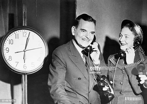 11/6/1950New York NY Making an eleventh hour bid to win undecided voters to his side Governor Thomas E Dewey running for reelection as Chief...