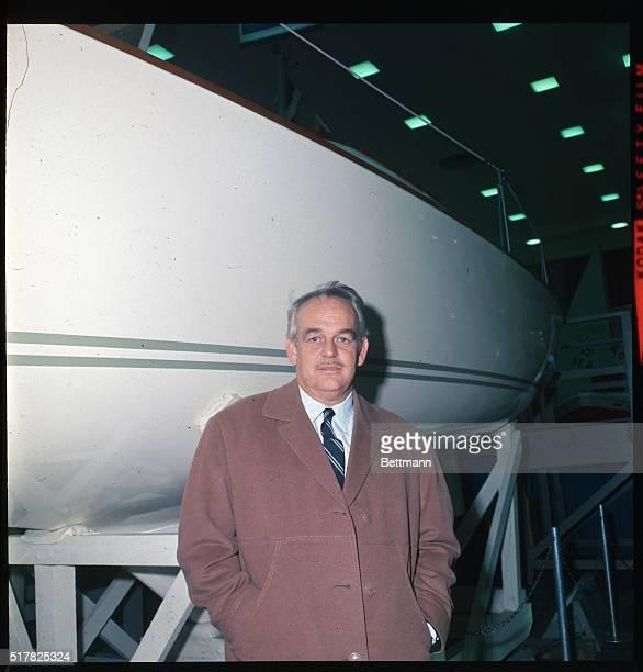 Prince Rainier III of Monaco at the Coliseum Boat Show