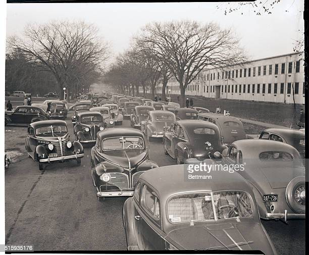11/7/1945Washington DC When workers of the Capitol Transit Company suddenly went on strike over a half million workers had to find some means of...