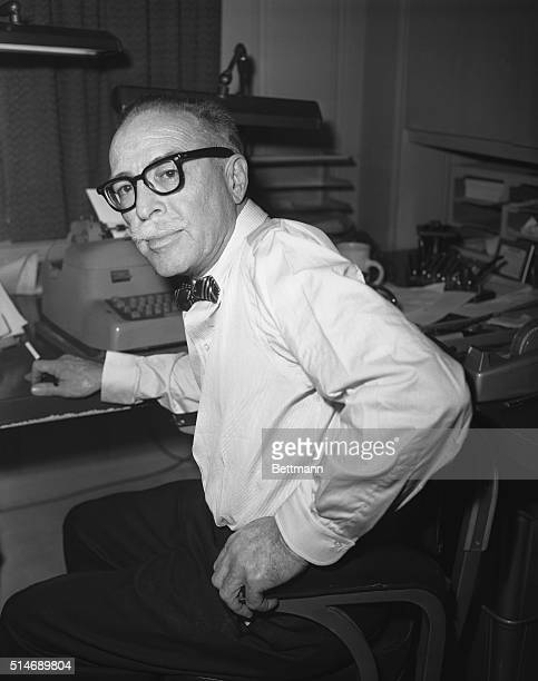 1/17/1959Los Angeles CA Dalton Trumbo blacklisted by the movie industry as one of the unfriendly ten witnesses after House UnAmerican Activities...