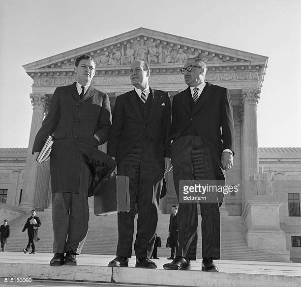 Washington, D.C.: Attorneys for six Southern states fight against the Voting Rights Act of 1965 at their last barricade -- the U.S. Supreme Court....