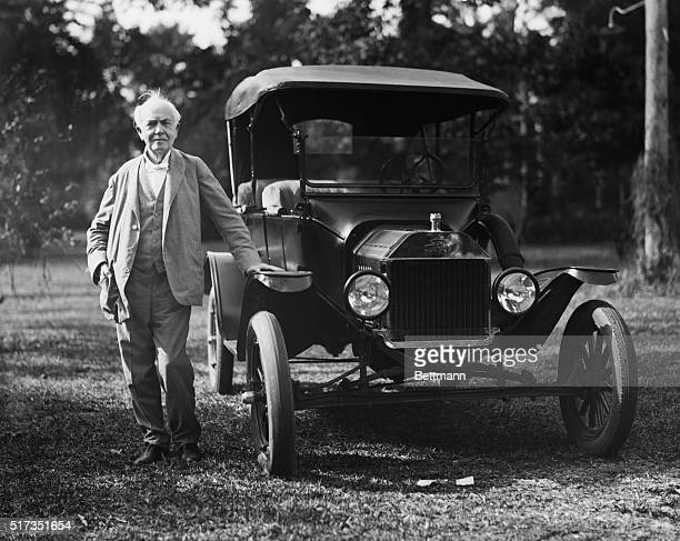 1/19/1928Fort Myers Fl The advent of the model Ford cars means nary a whit in the life of Thomas Edison famous electrical genius for he still...