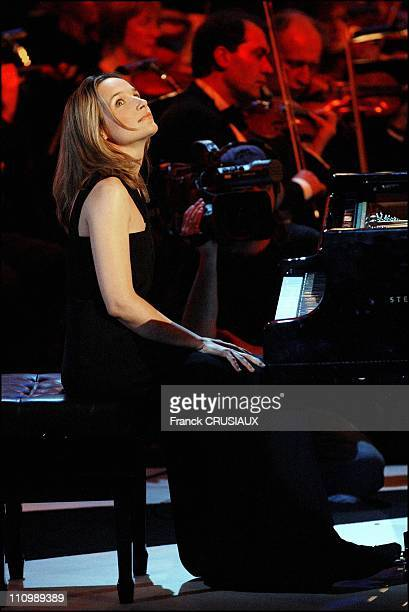 11Th Annual Victoires Classical Music Award Ceremony At The Salle Du Nouveau Siecle Auditorium Pianist Helene Grimaud Was Granted With An Honorary...