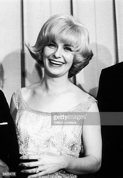 American film actress Joanne Woodward at the Oscars award ceremony in Hollywood