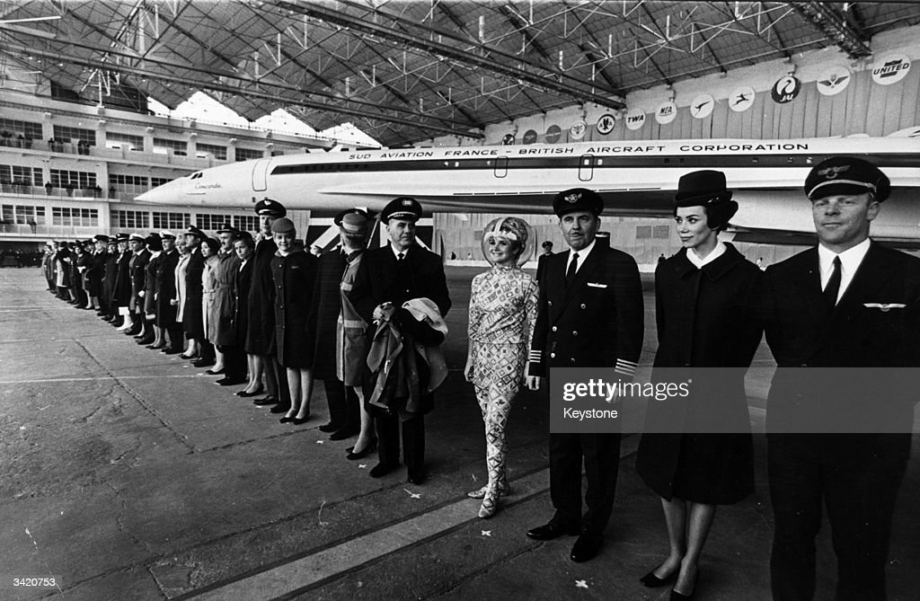 Anglo-French supersonic airliner Concorde was rolled out for the press for the first time on 11 December 1967