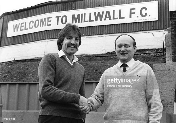 George Petchey welcomes Bobby Shinton to Millwall on loan from Manchester City