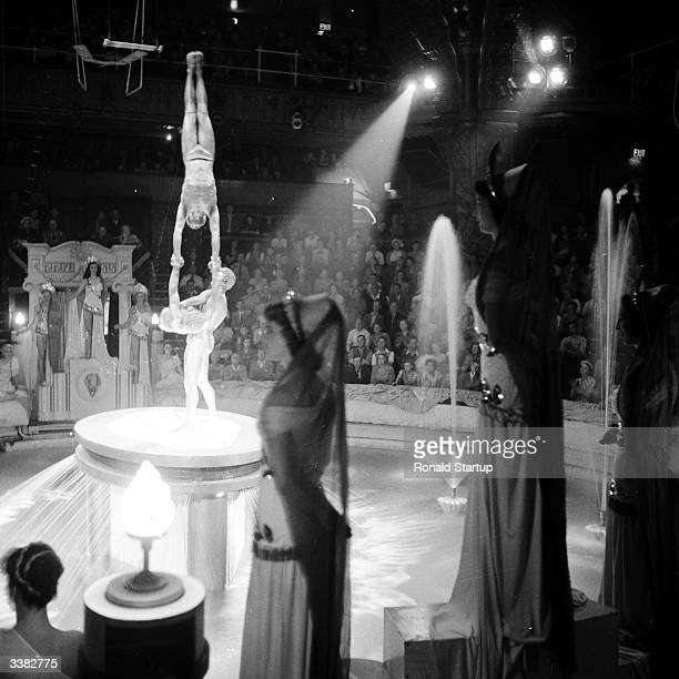 A scene from the circus which has run under the Blackpool Tower since 1894 Original Publication Picture Post 9218 The Story Of Blackpool Tower pub...