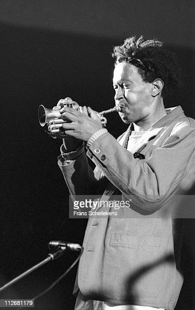 trumpet player Don Cherry performs at the North Sea Jazz festival in the Congresgebouw The Hague Netherlands on 11th July 1986