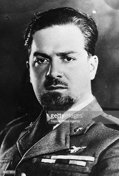 Count Italo Balbo an Italian aviator specialising in large air formations and the first minister of aviation in Italy In 1933 he became Governor of...