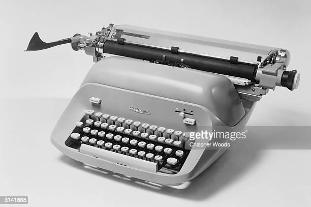 A Royal typewriter