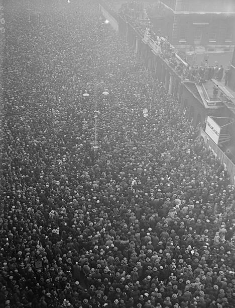 The anniversary of the day that fighting ended in World War I at the Cenotaph Whitehall London
