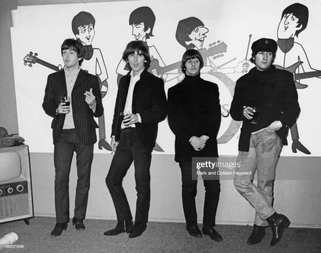 The Beatles... : News Photo