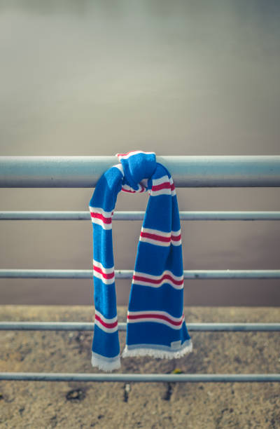 GLASGOW, UK MARCH 11th - Rangers FC Scarf