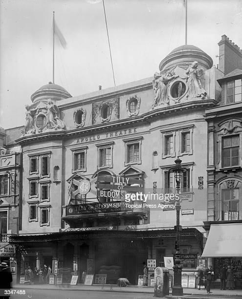 The Apollo Theatre in central London