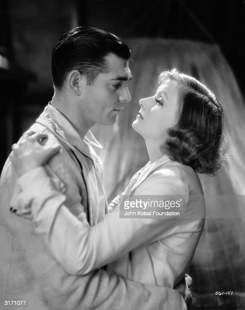 Clark Gable as Rodney and Greta Garbo in the title role in a scene from 'Susan Lenox Her Fall And Rise' directed by Robert Z Leonard