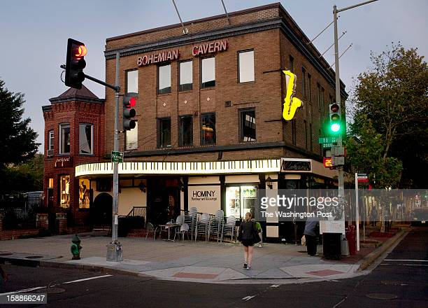 WASHINGTON DC SEPTEMBER 8 2001 11th St NW Bohemian Caverns was identified as Club Caverns in The Negro Motorist Green Book The Negro Motorist Green...