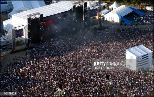 11th 'Vieilles Charrues' festival in Carhaix France on July 19 2002