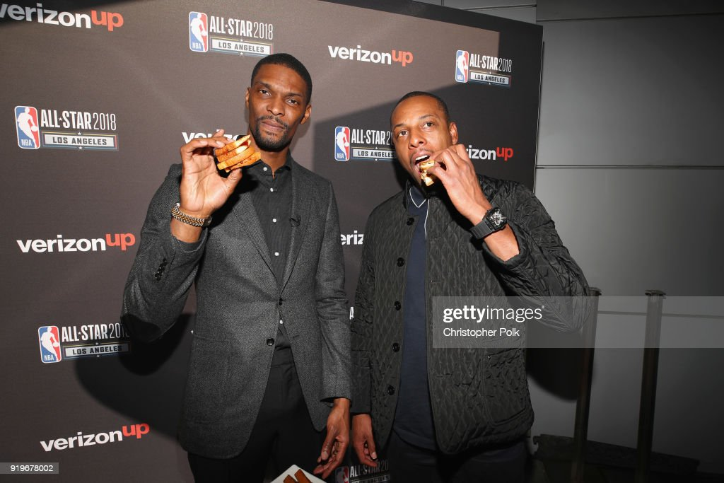 Gourmet PB&Js with Verizon Up, Paul Pierce and Chris Bosh