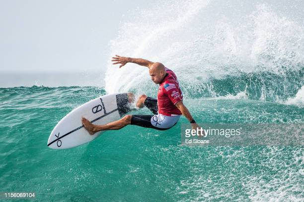 11time WSL Champion Kelly Slater of the United States is eliminated from the 2019 Corona Open JBay with an equal 9th finish after placing second in...