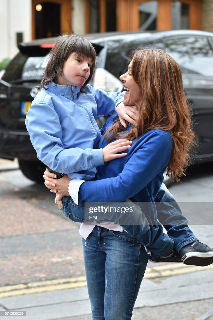 London Celebrity Sightings -  April 28, 2017 : News Photo