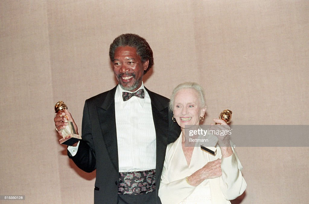 Morgan Freeman and Jessica Tandy : News Photo
