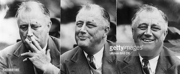 30011882 Politiker USA Demokraten32 Präsident 1933 1945drei Porträtstudienohne Jahr