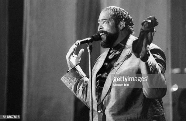 Sänger Musiker USA bei einem Konzert 1995