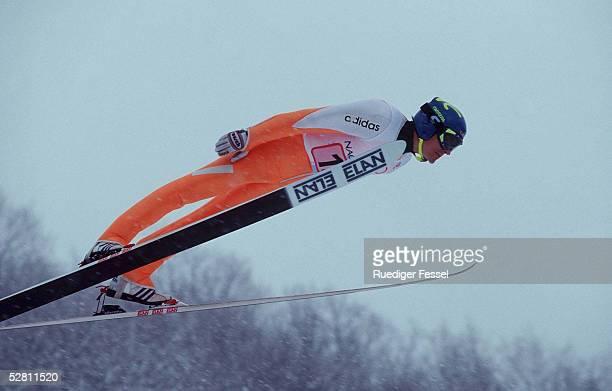 NAGANO 1998 MANNSCHAFT 120m Sven HANNAWALD SILBER