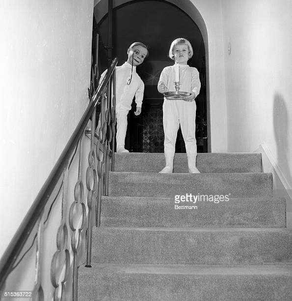 Hollywood CA Edgar Bergen's daughter Candy who speaks for herself decides to wait up for Santa Claus the night before Christmas Dad's dummy Charlie...