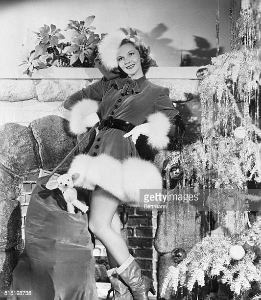 Hollywood CA If Santa Claus' annual visit could possibly be made any more pleasant then this fetching assistant might do it She's Mary Martin radio...
