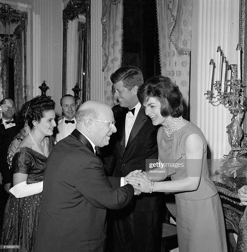 Jackie and john kennedy greet pablo casals pictures getty images san juan puerto rico mrs john f kennedy exchanges warm greetings m4hsunfo