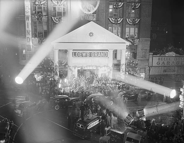 """UNS: 15th December 1939 - The US Premiere of """"Gone with the Wind"""""""