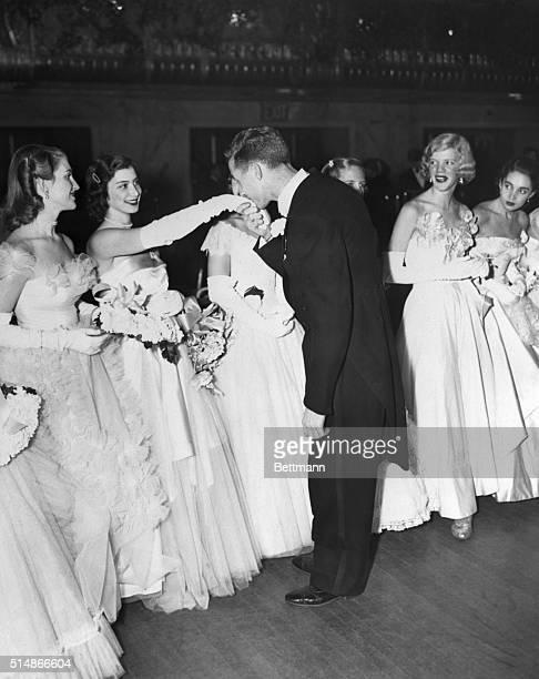 New York, NY: One hundred and seven young women were presented at the Debutante Cotillion and Christmas Ball tonight, in the Grand Ballroom of the...