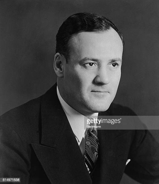 Head and shoulders portrait of Clyde Tolson, Associate Director of the FBI.