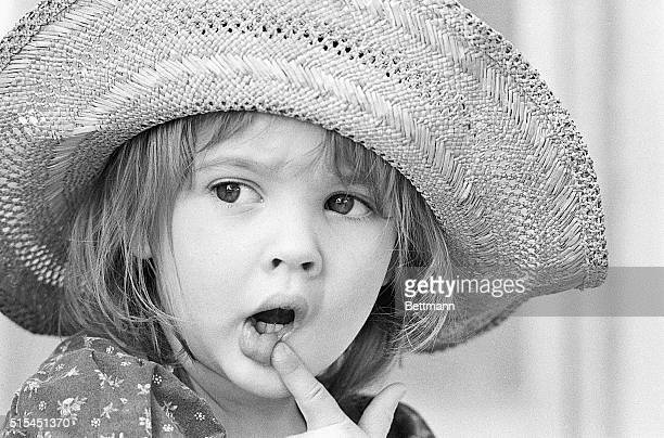 West Hollywood, California-Four-year-old Drew Barrymore, granddaughter of the late John Barrymore, is the youngest member of the Barrymore and Drew...
