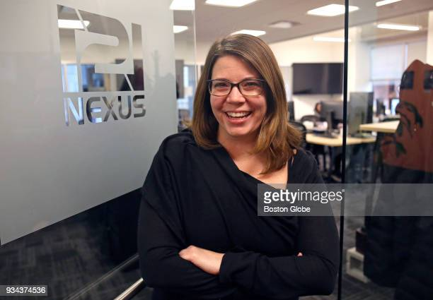 121nexus Executive Vice President and COO Heather Ryan poses for a portrait at the company in Boston on March 15 2018 When the Harvey Weinstein...